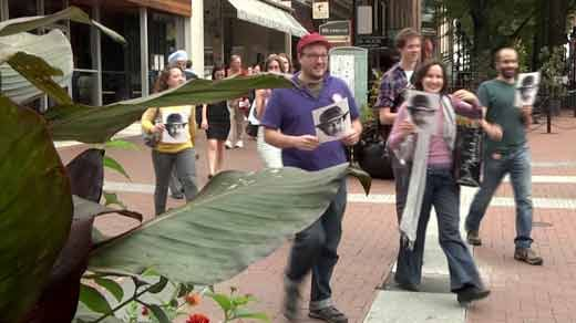 Article from NBC29 com  The downtown mall in Charlottesville
