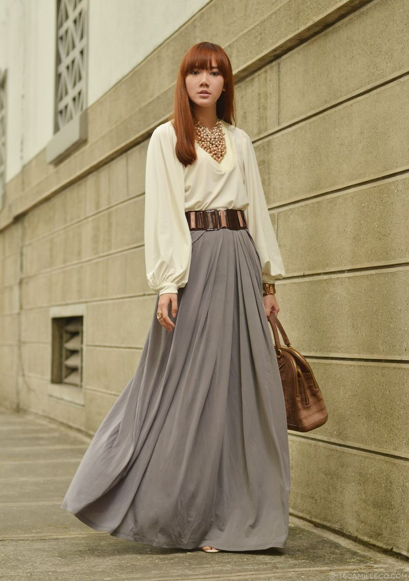 17 Best images about grey maxi outfits etc on Pinterest | Scoop ...