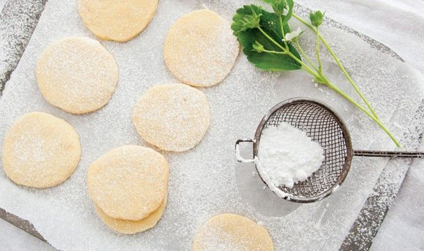 Buttery Shortbread : Annabel Langbein : The Home Channel