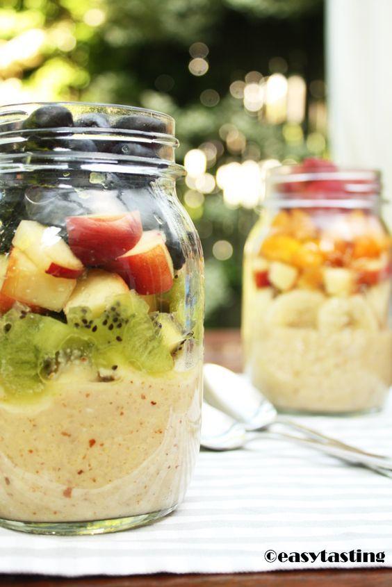 Detoxing: Basenfrühstück mit Amaranth und Früchten