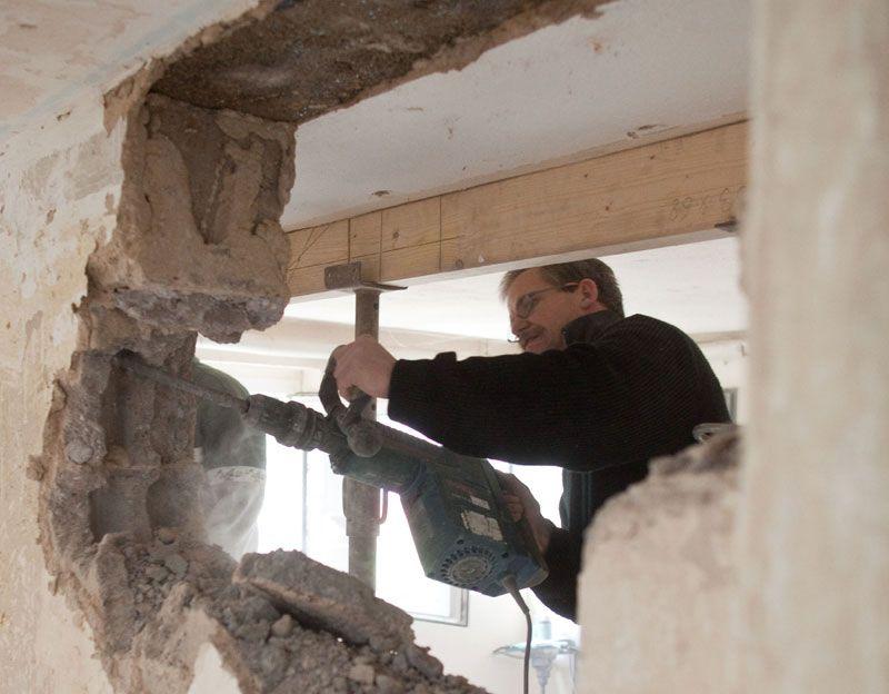 Mauerdurchbruch Fur Fenster Und Turen Tragende Wande Beachten Bauredakteur De Tragende Wand Wanddurchbruch Fenster Und Turen