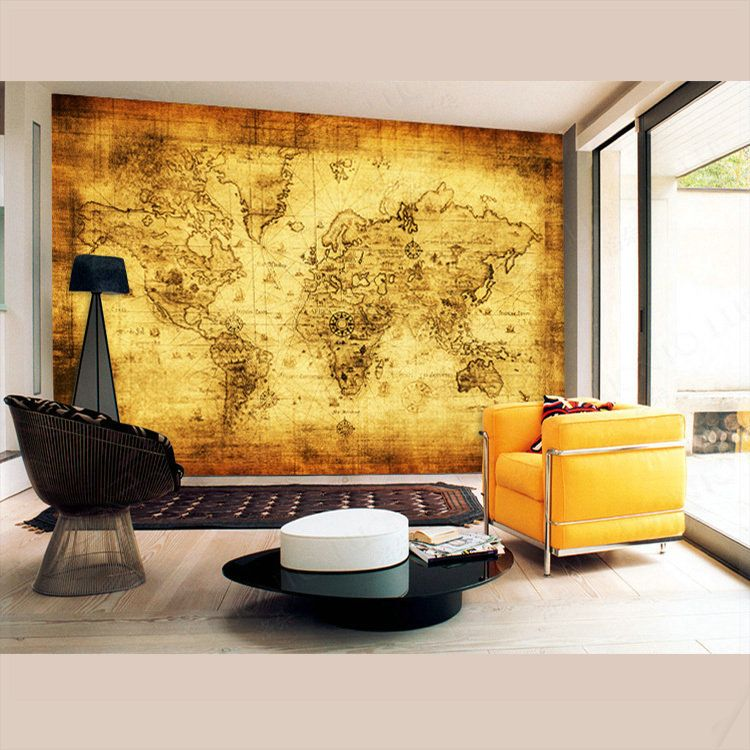 Put your TV on the map, or to be more precise, behind it! | Stuff to ...