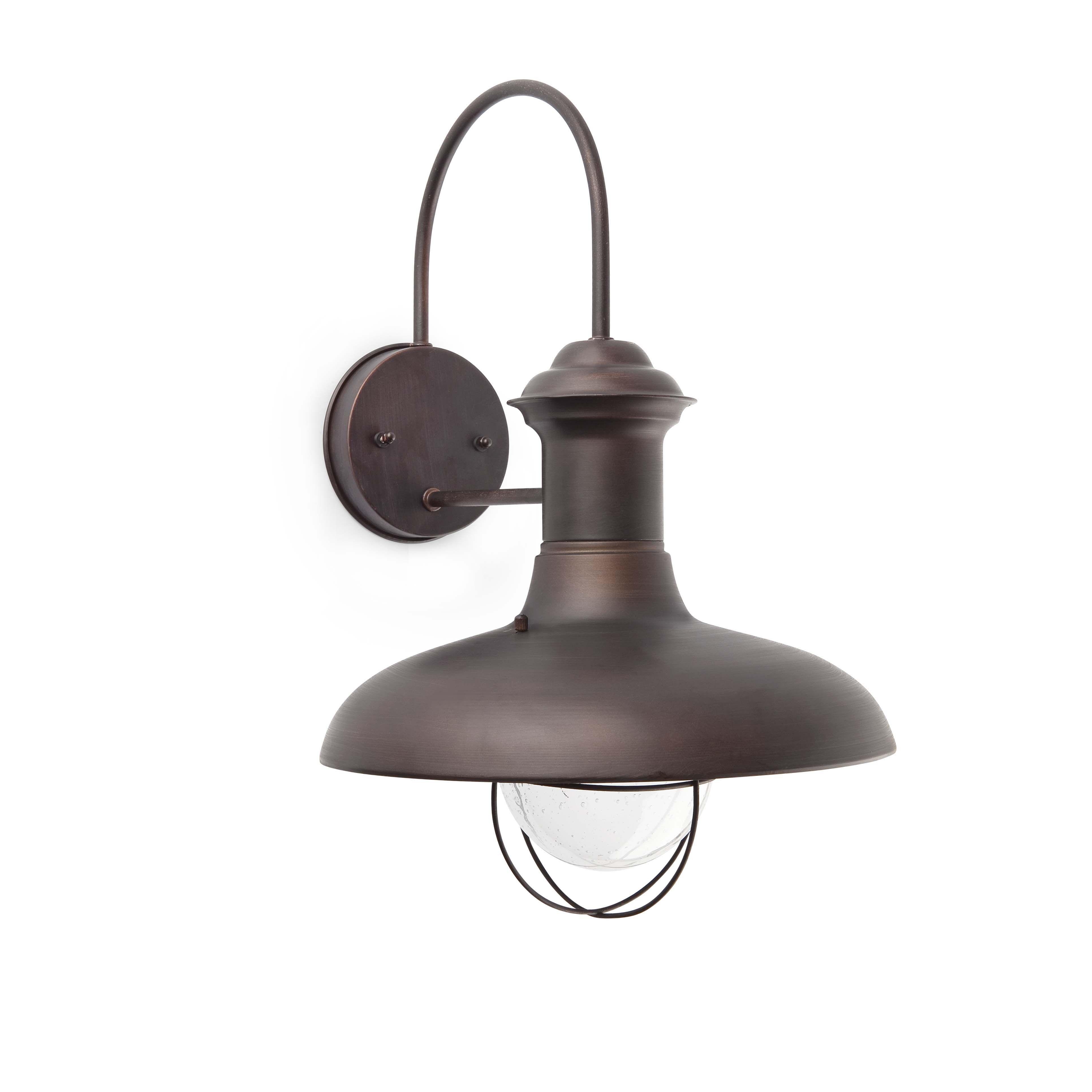 Klassieke wandlamp estoril groot roestkleurig 8071141 esr - Iluminacion estilo industrial ...