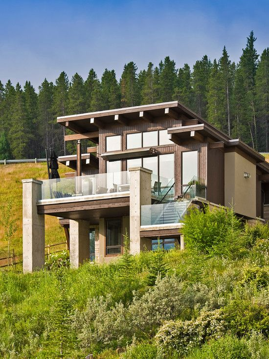 modern contemporary house charming mountain house in contemporary exterior comfortable
