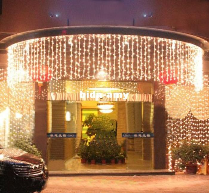 Wholesale LED Strings - Buy 6M X 1M 300 LED Outdoor Black Curtain