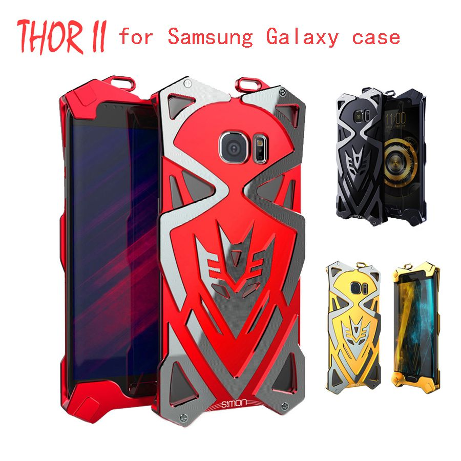 Simon Thor 2.0 II IRON MAN Metal aviation Aluminum Luxury Tough Armor Phone  Case cover For 9343bb5d35e