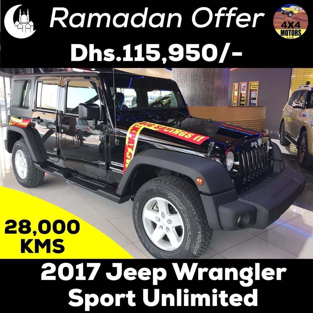 𝗡𝗘𝗪 𝗔𝗥𝗥𝗜𝗩𝗔𝗟 2017 Jeep Wrangler Sport Unlimited