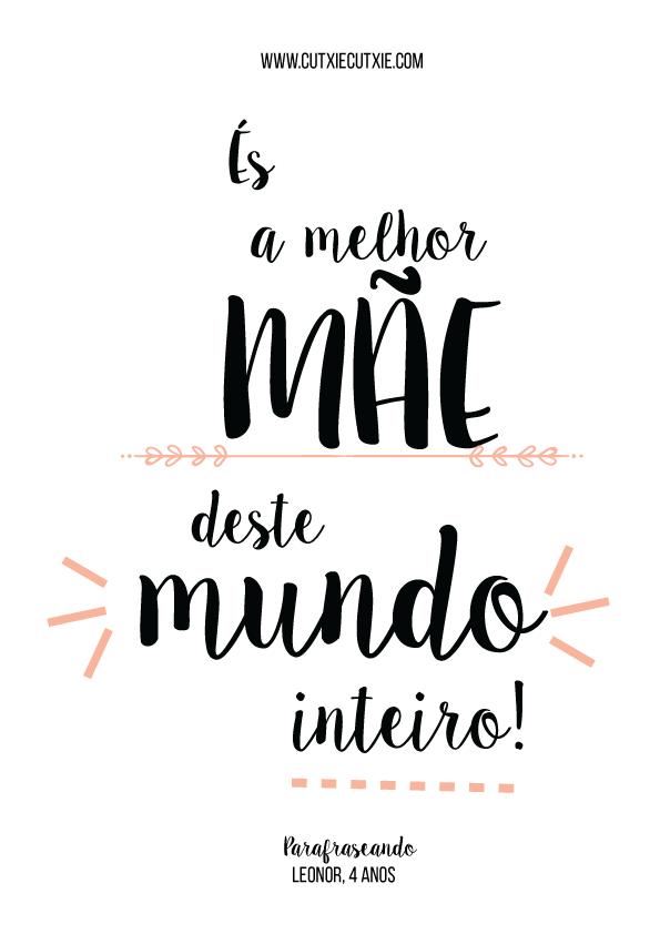 Motivação Frases Mantras Design Melhor Mãe Do Mundo Amor De Mãe