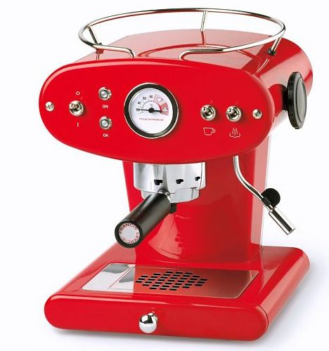The Y1 machine is made by coffee-machine maker Francis Francis (now owned by Illy), makers of ...