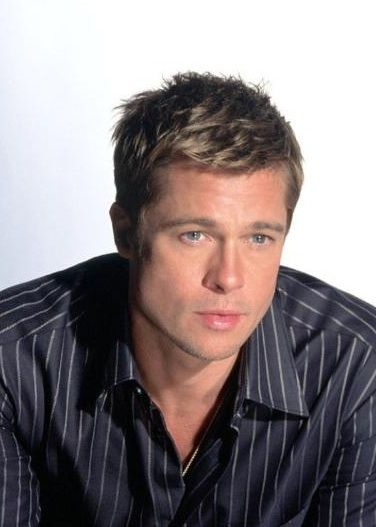 Brad Pitt Hairstyles Bradpittoceans13Hairstyle 376×527  Entertainersmovie