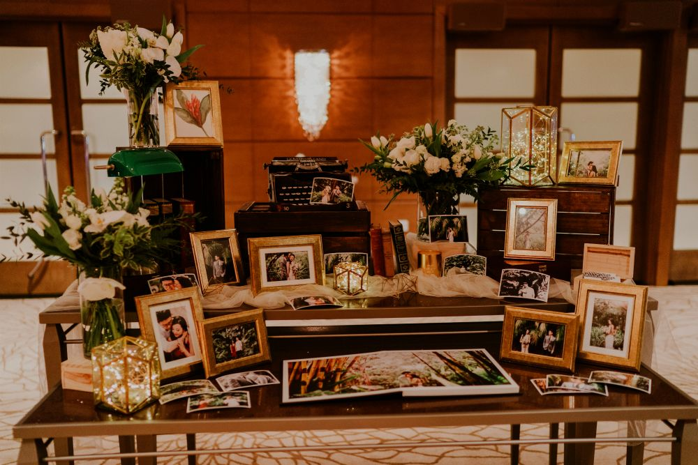 An Elegant Tropical Wedding Celebration At Chjimes And The