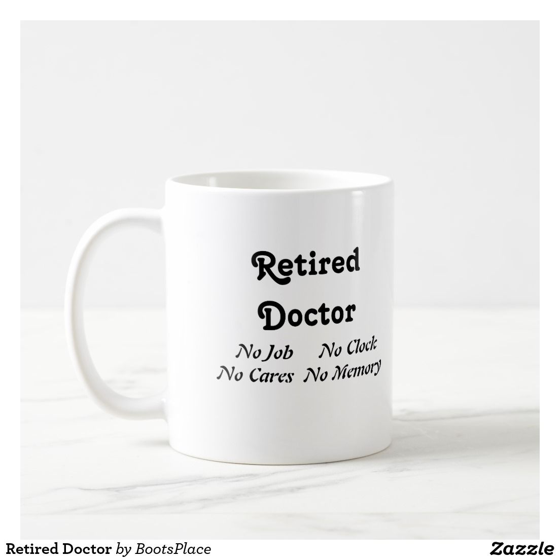 Worlds best doctor coffee mugs - Retired Doctor Coffee Mug