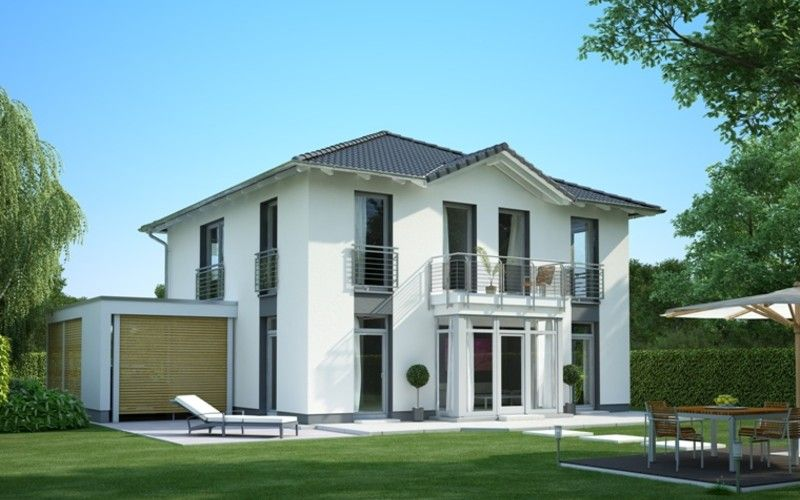 villa sv150 heinz von heiden gmbh massivh user stadtvillen hausprogramm in 2018. Black Bedroom Furniture Sets. Home Design Ideas