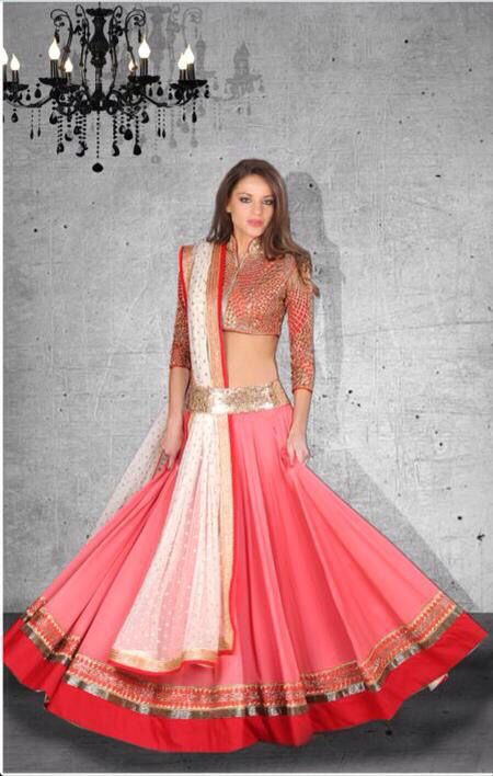 8a856c63676d1 like the blouse style and the tucked in dupatta | Engagement Dresses ...