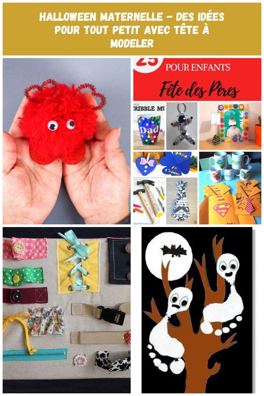 Halloween maternelle - Des idées pour tout petit avec Tête à modeler Bricolages pour Tout-petits ...