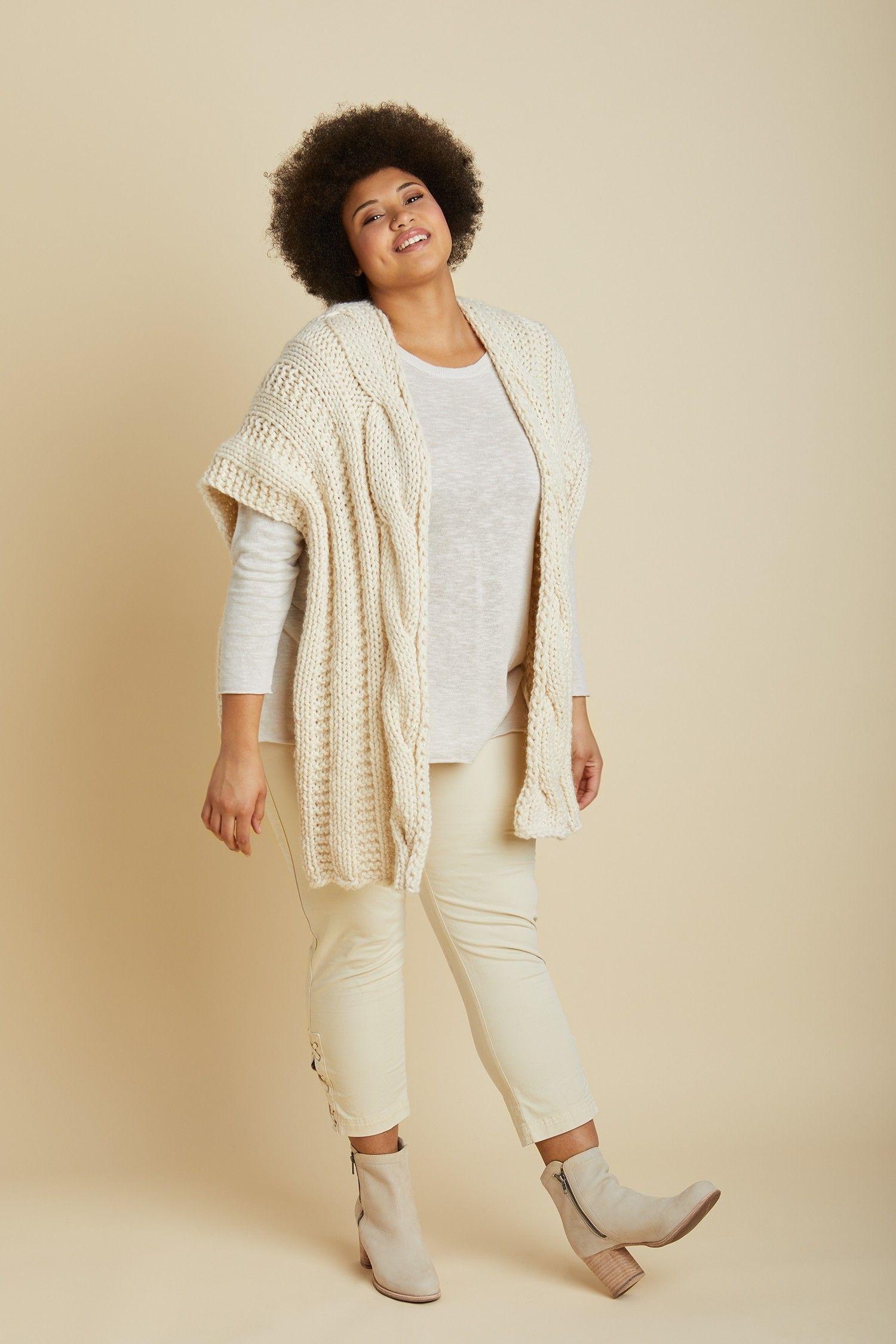 Rhinebeck Ruana (Knit) | Shawl Knitting Patterns | Pinterest | Knit ...