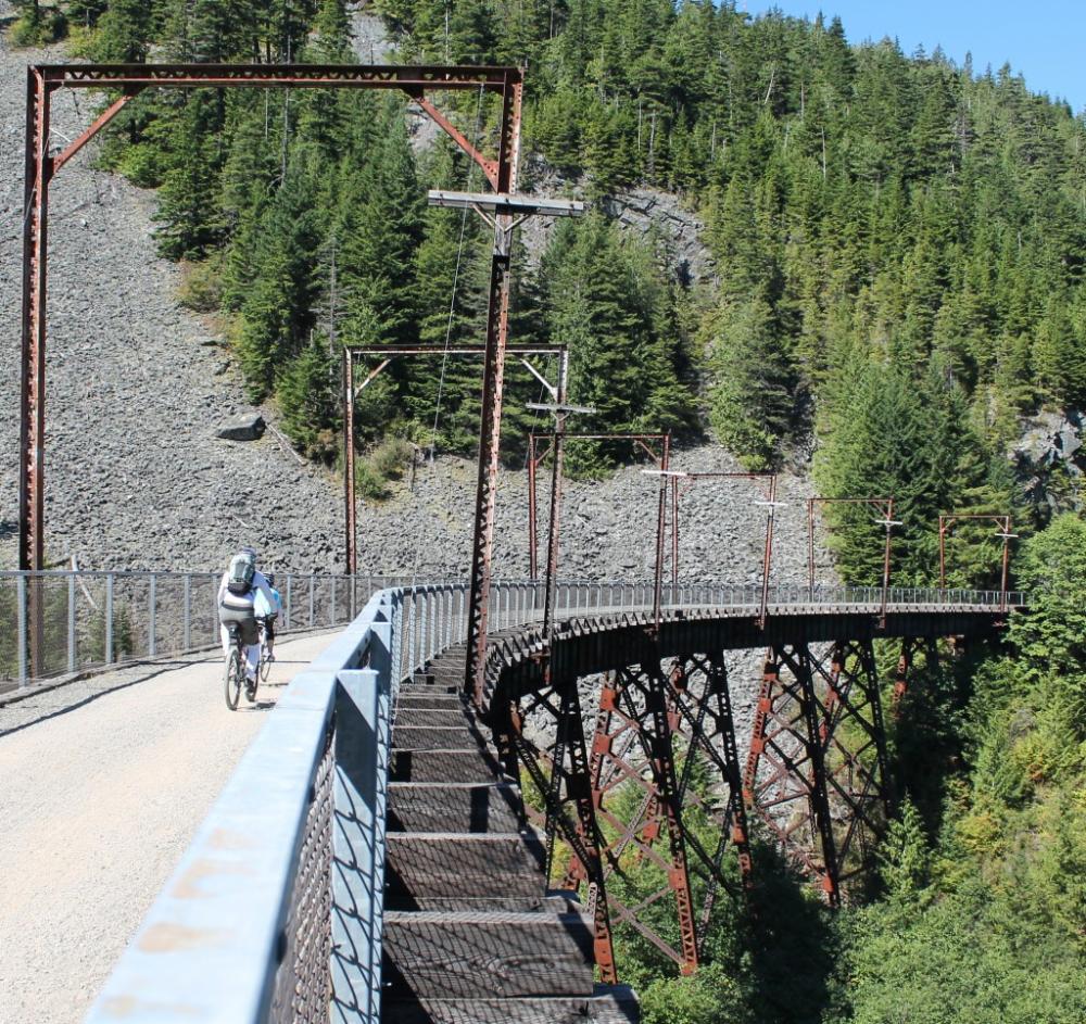 10 longest railtrails for bicycling — John Wayne Pioneer