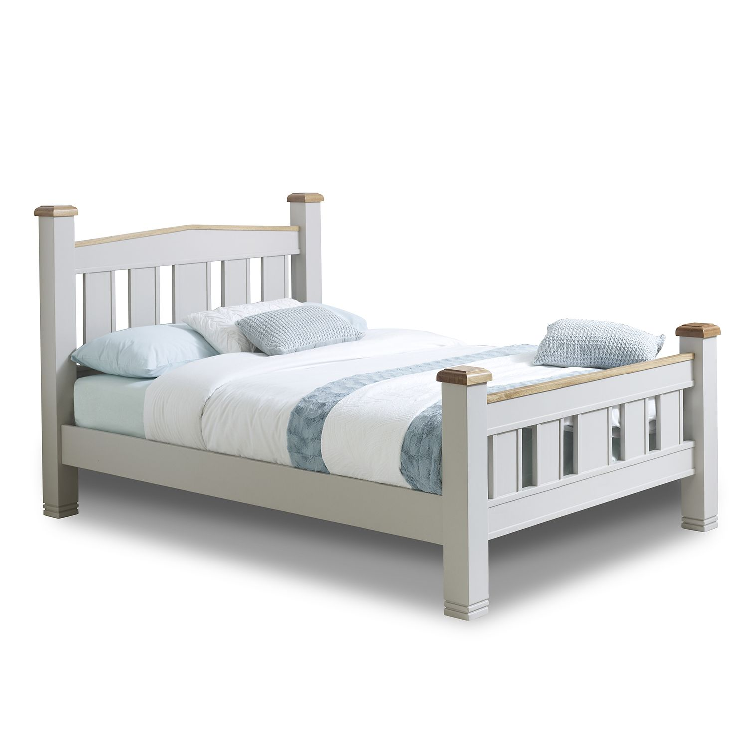 Woodstock Oak Bedframe Next Day Select Day Delivery Bedsteads