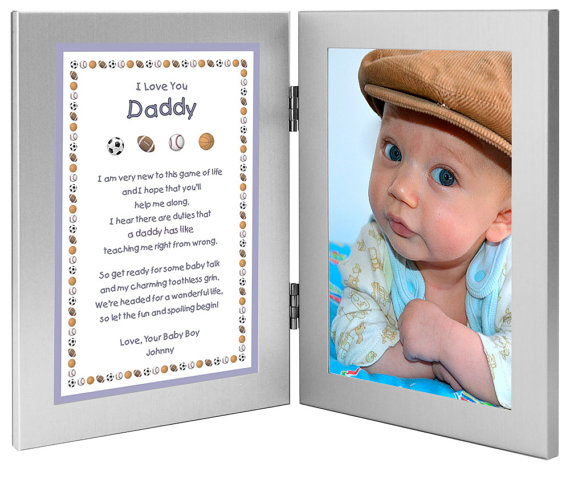 New Dad Personalized Birthday Or Fathers Day Gift By PoetryGifts