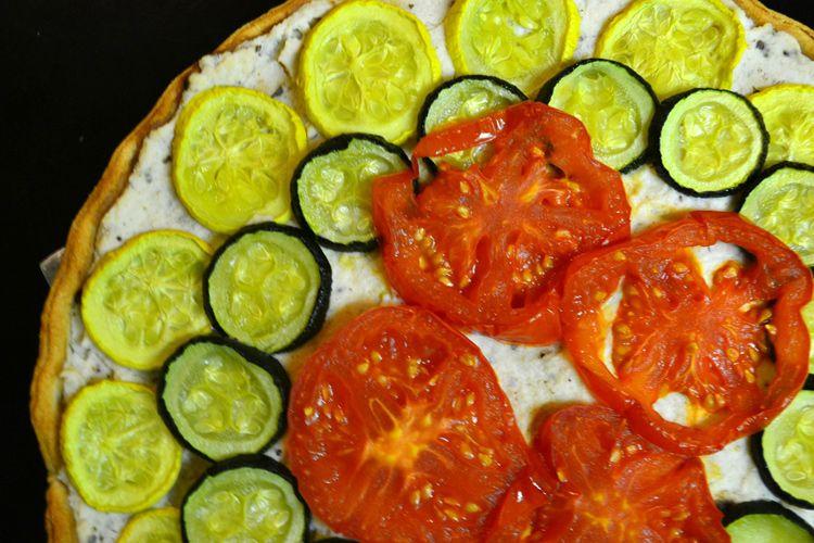 Vegetable tart vegetable tart eat healthy recipies