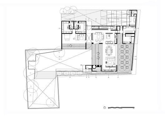Garden House Dcpp Arquitectos Home And Garden Floor Plans Garden Planning