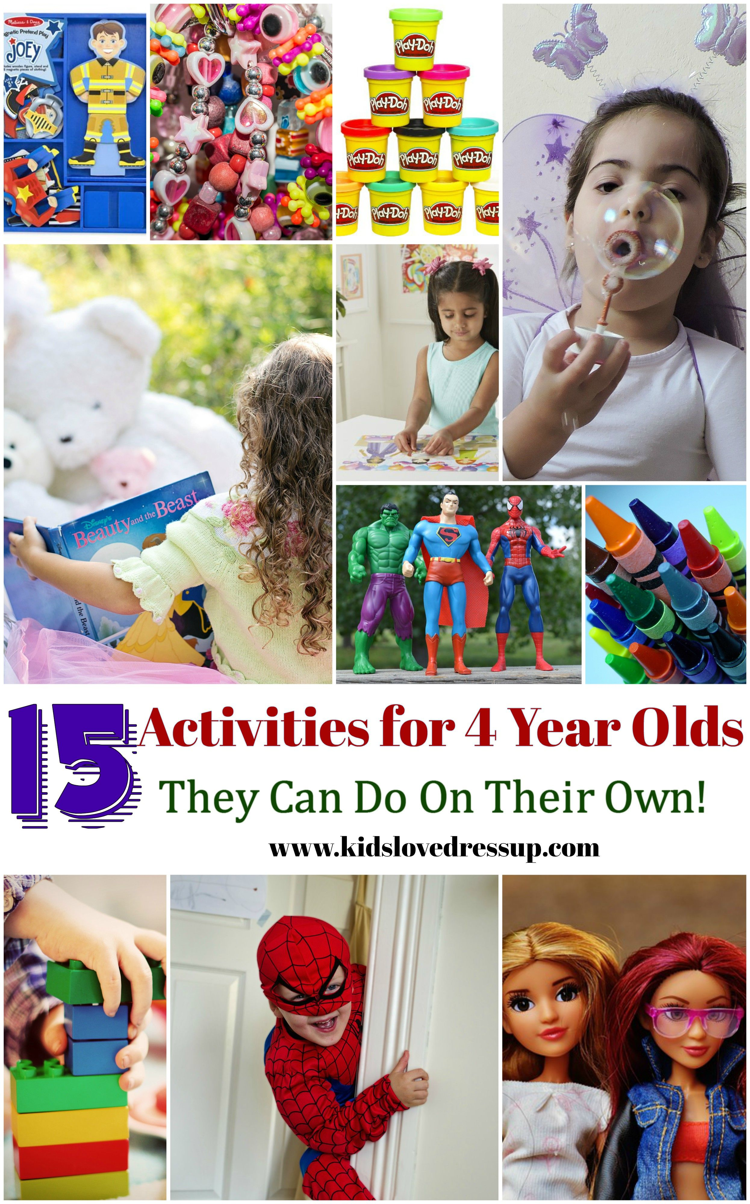 15 Fun Activities For 4 Year Olds That They Can Do On