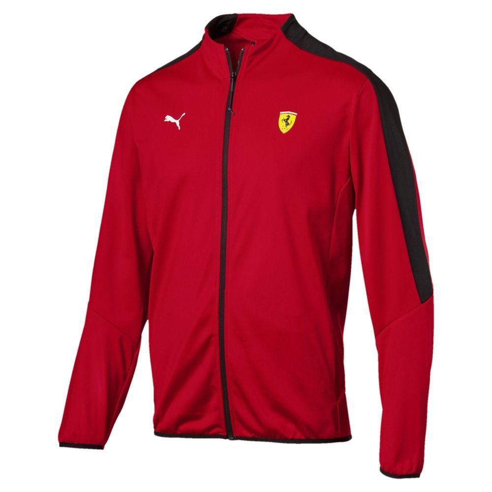 576701,01] Mens Puma SF Scuderia Ferrari T7 Track Jacket