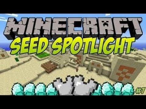 Minecraft 1 8 1 Seeds: BEST SEED EVER! 6 Diamonds, 2