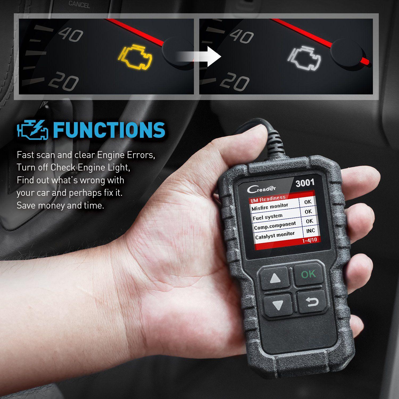 Launch X431 Creader 3001 OBD2 Scanner Automotive Car Diagnostic Tool