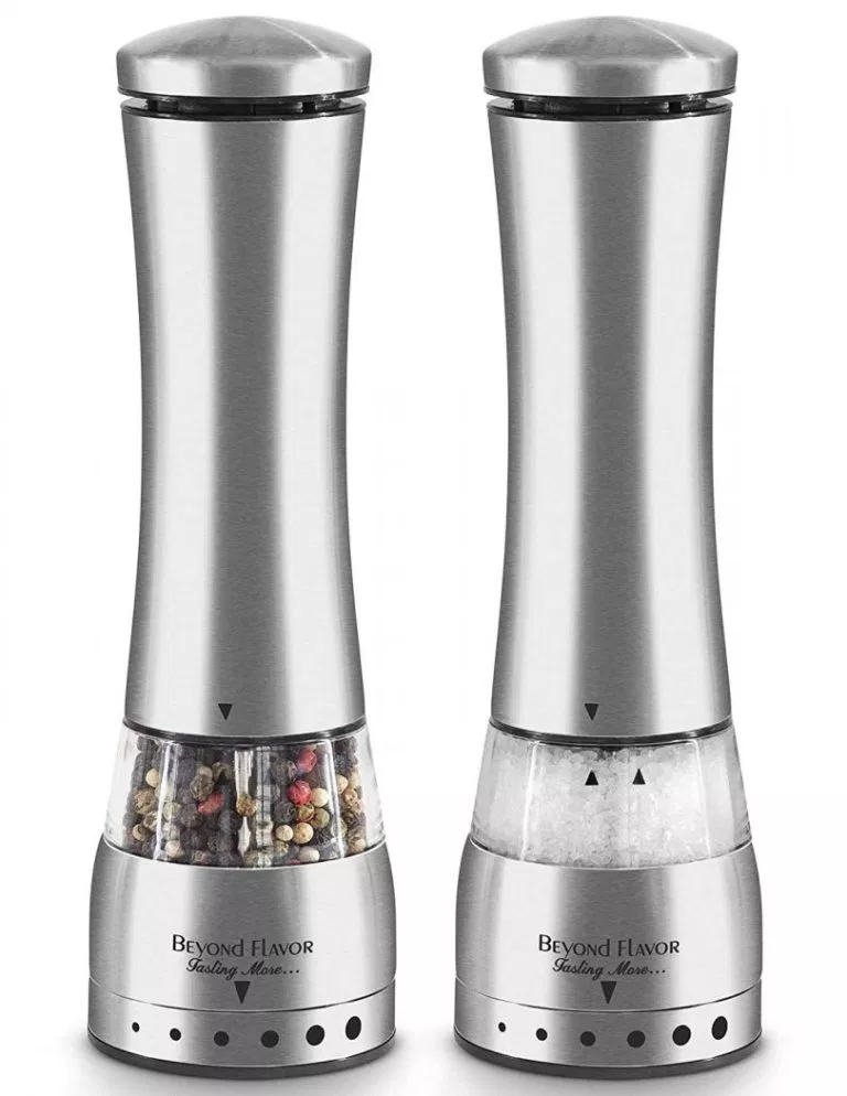 Top 5 Best Electric Pepper Grinders In 2019 Review Product Rapid Electric Pepper Grinder Stuffed Peppers Salt And Pepper Grinders
