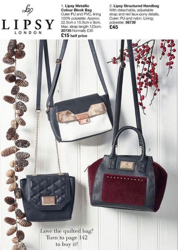 Lipsy Designer Bags From Avon Order My Online S