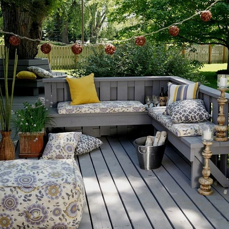 Modular Split Level Deck: Covered Back Porch Decorating Ideas