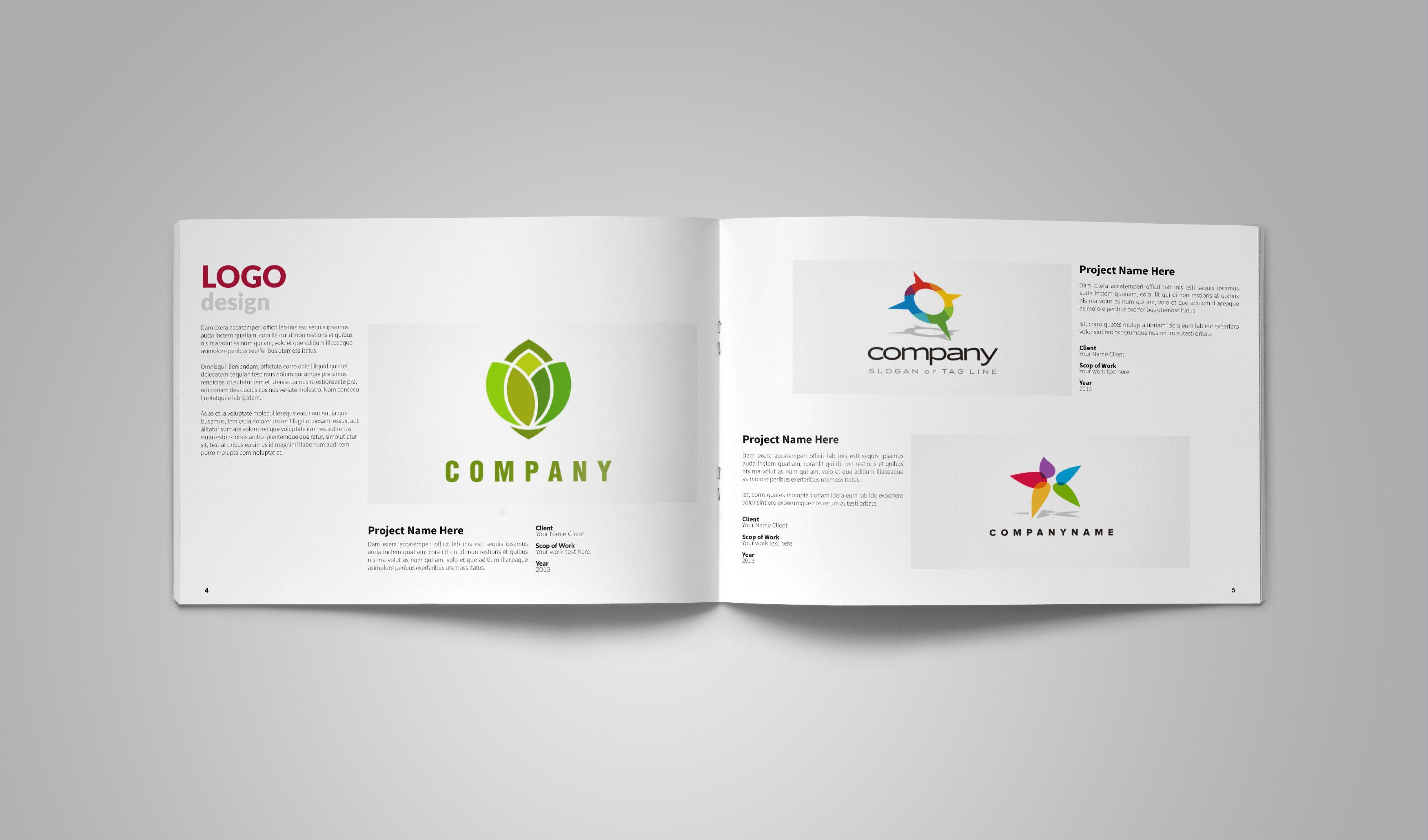 Graphic Design Portfolio Template by vanroem on Creative