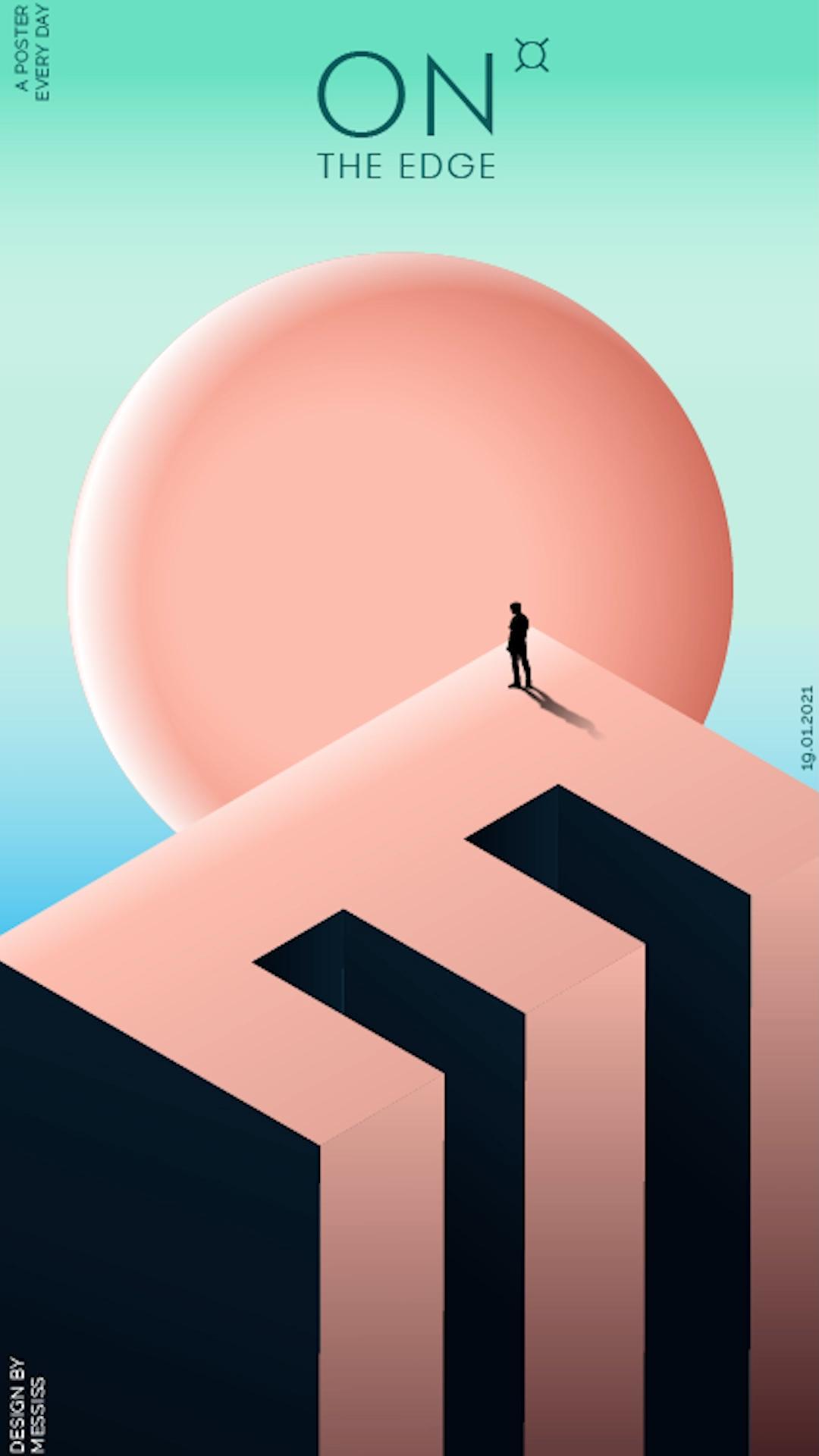 Adobe Illustrator Tuturial | Colorful Poster