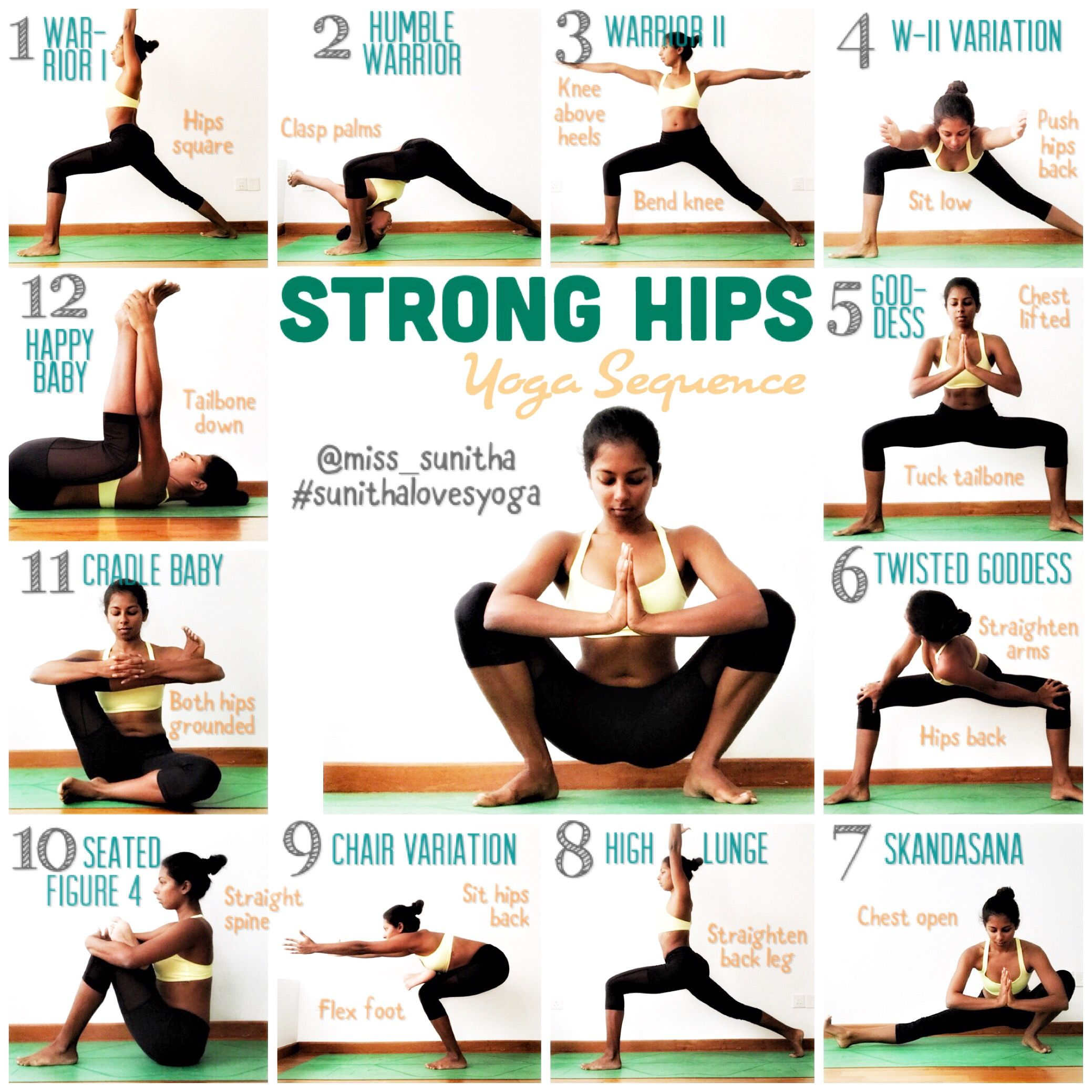 Yoga Sequence For Hips