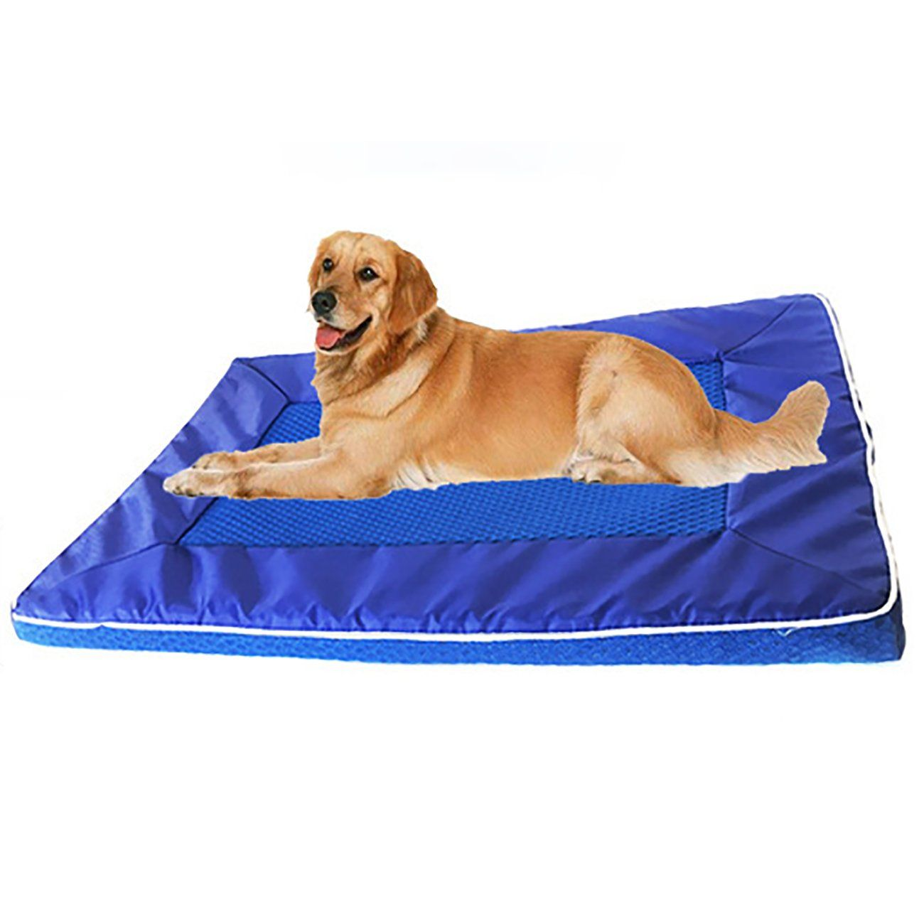 Uheng Pet Dog Cooling Mat Pets Cool Bed Cat House Ice Pad Chilly Ice Cooler Bed For Dogs Pets Puppy Cushion Mat Cold Pillow Beds Cats Coolmat Pads For Kennels