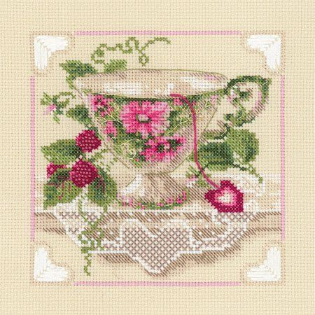 8 pack of cross stitch patterns and kits