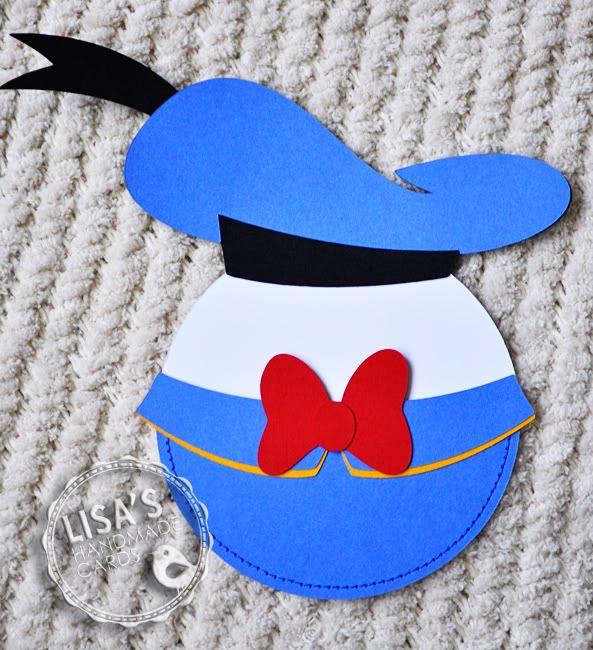 Donald Duck Pocket Invitation Cards Cricut Forums – Donald Duck Birthday Card