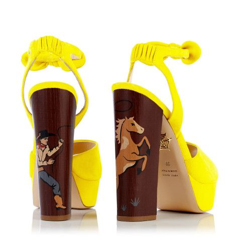 Charlotte Olympia Goes Western for Spring 2015: Because Even Cowgirls Get the Shoes – Vogue