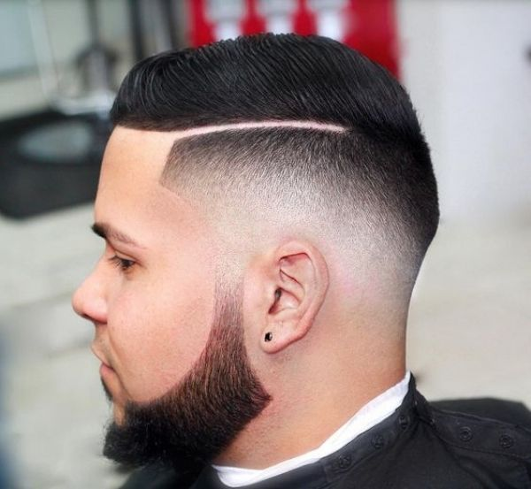 Image Result For Line Fade Haircut Men