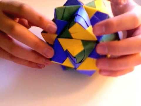 YouTube - Origami Icosahedron Tutorial