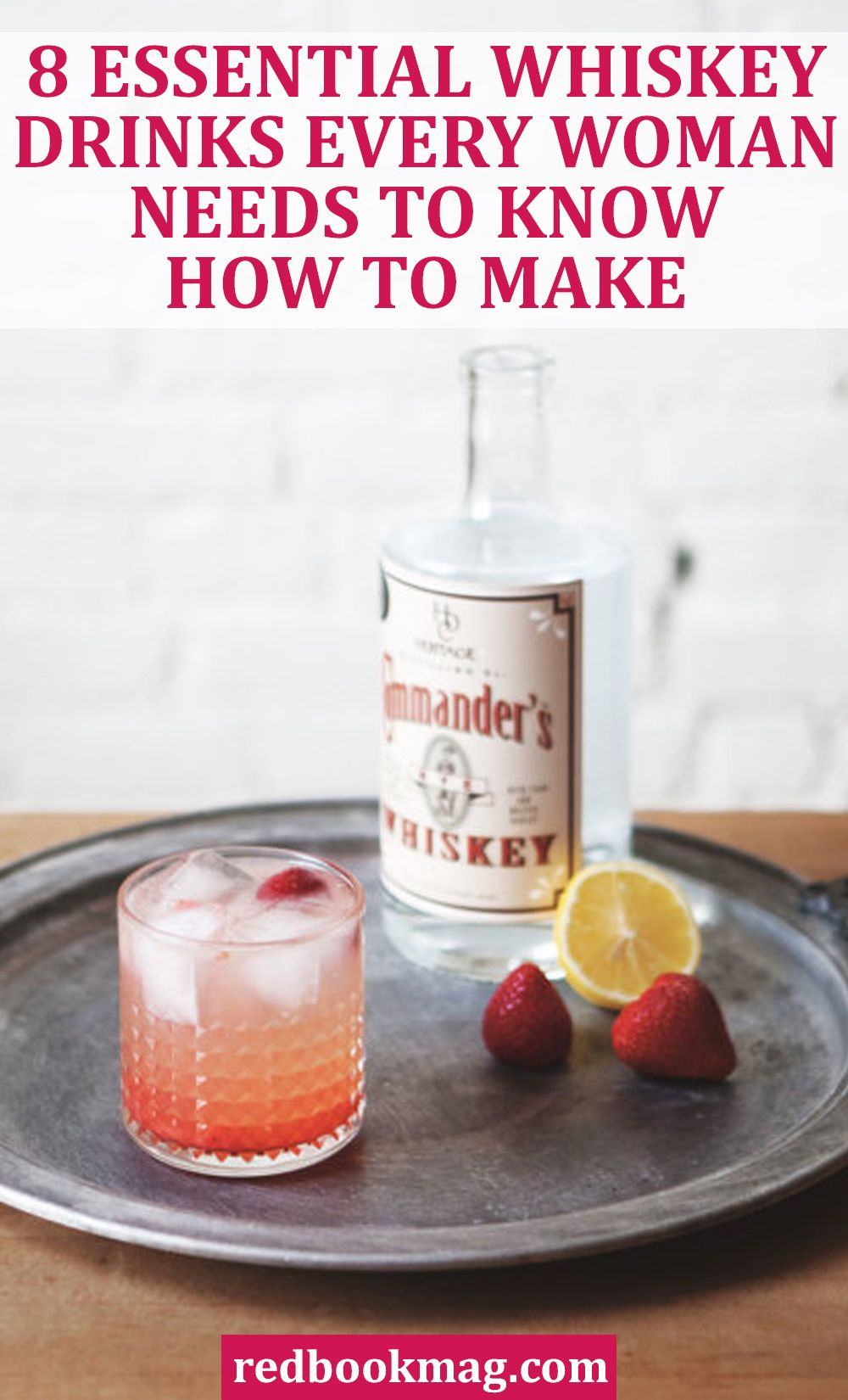 Easy Whiskey Mixed Drinks
