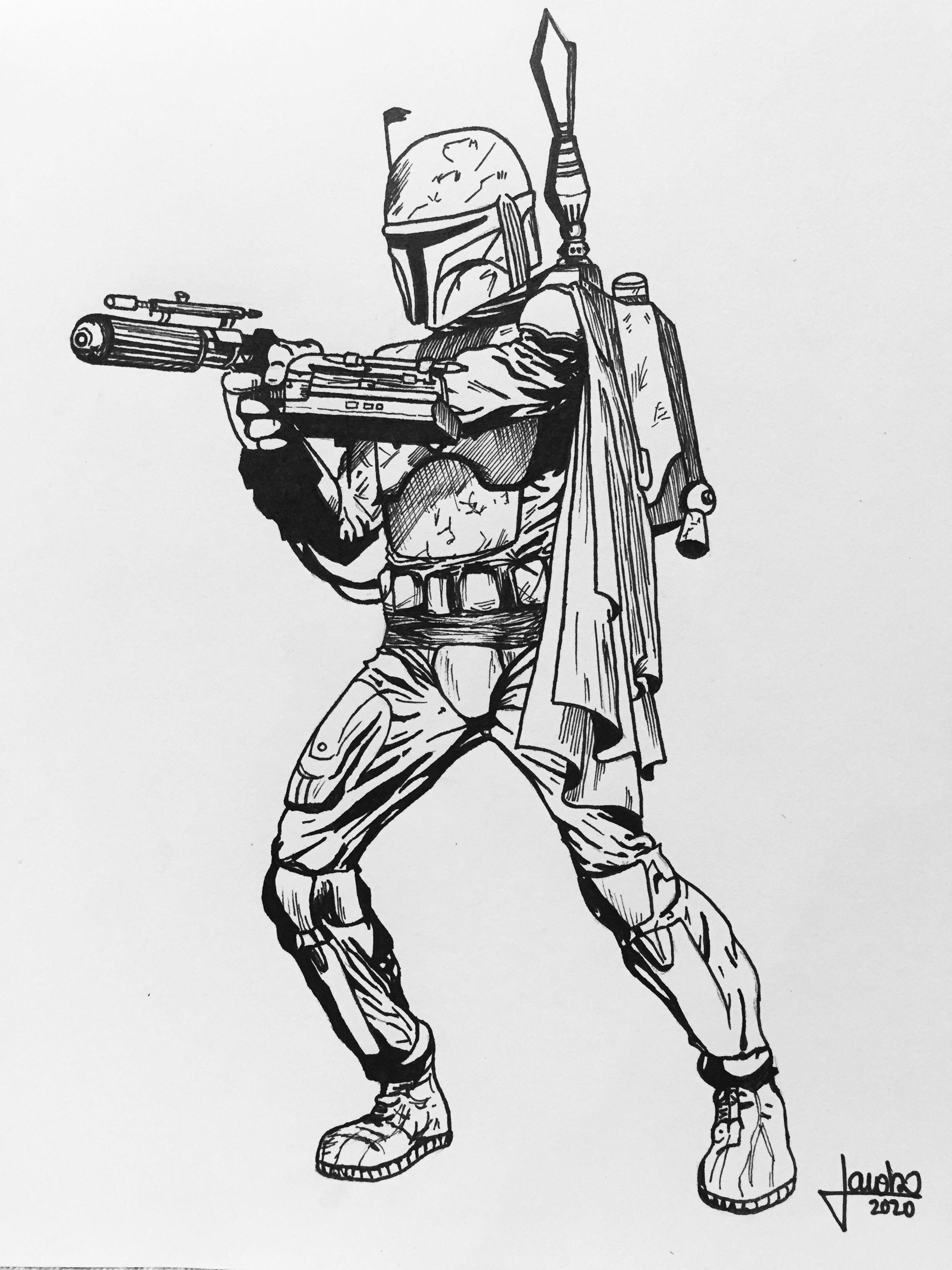 The Mandalorian Star Wars Coloring Sheet Star Wars Drawings Star Wars Printables