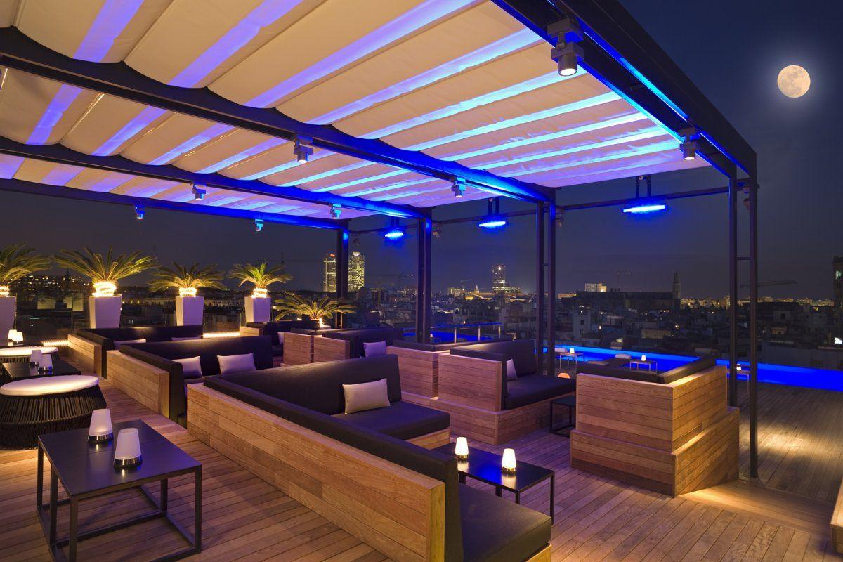 Grand Hotel Central 5 Centre Of Barcelona Official Website Bar Terraza Bares Diseno Terraza Moderna