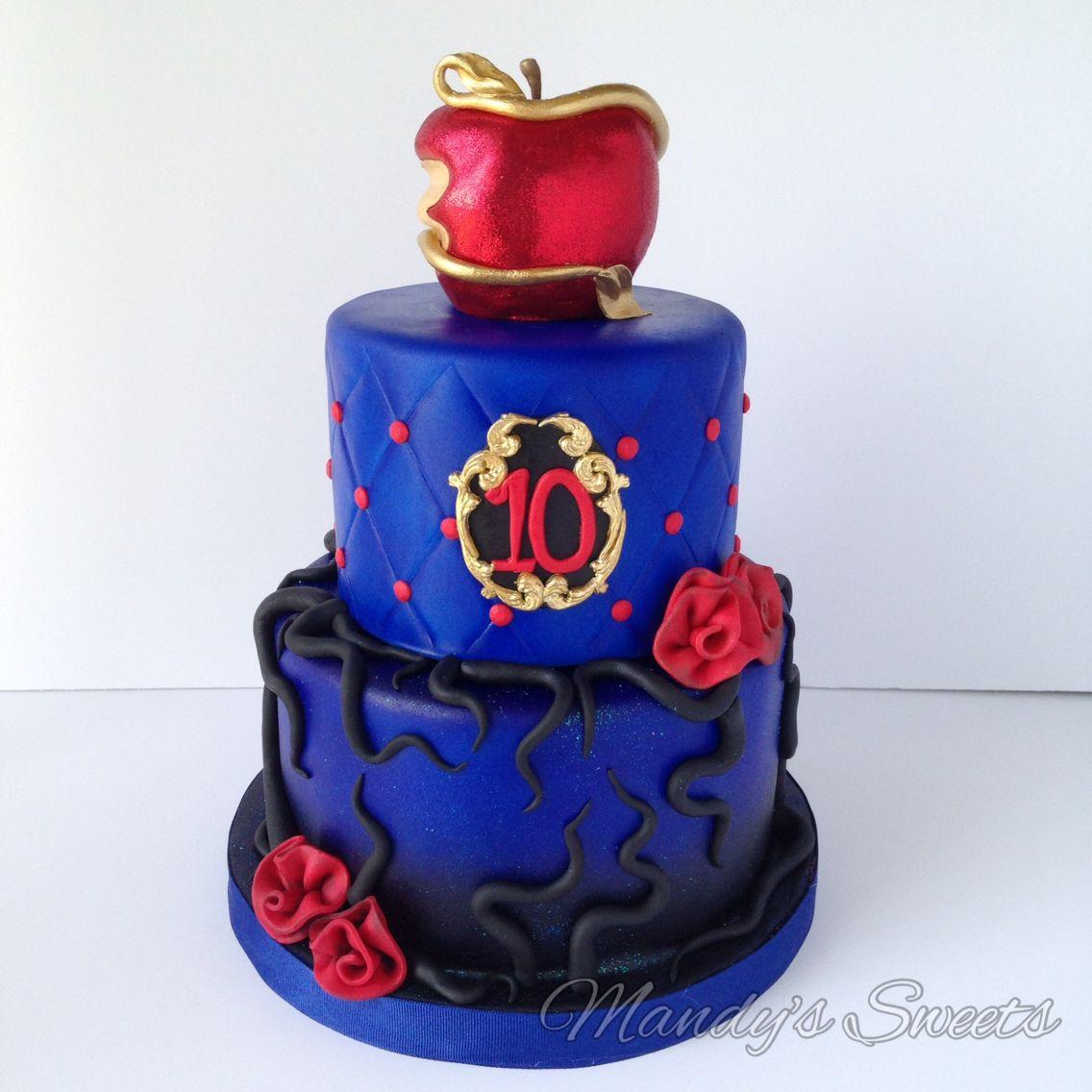 Descendants cake More Party Ideas Pinterest Descendants cake
