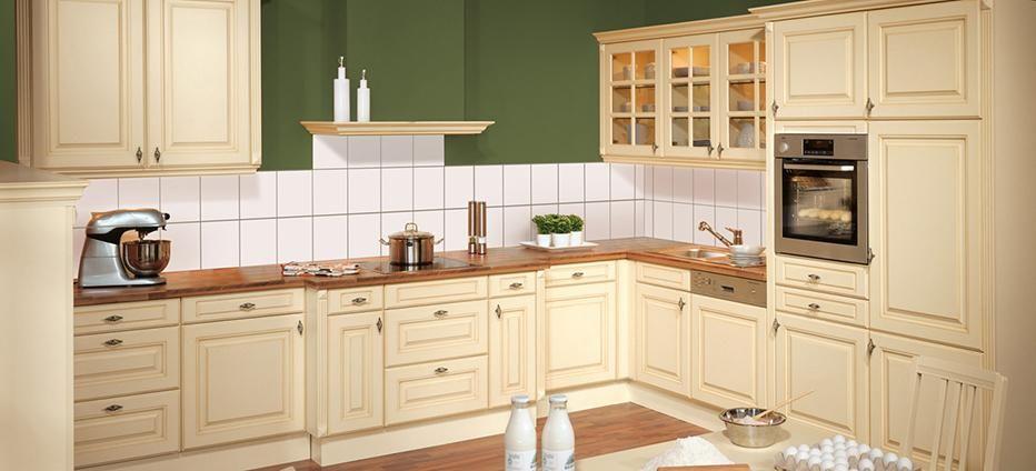 Gemütliche Landhausküche in Creme   Küche   Pinterest ...