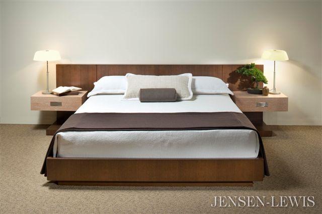creative elegance stockholm platform bed with nightstands bed bedroom bed bedroom furniture. Black Bedroom Furniture Sets. Home Design Ideas