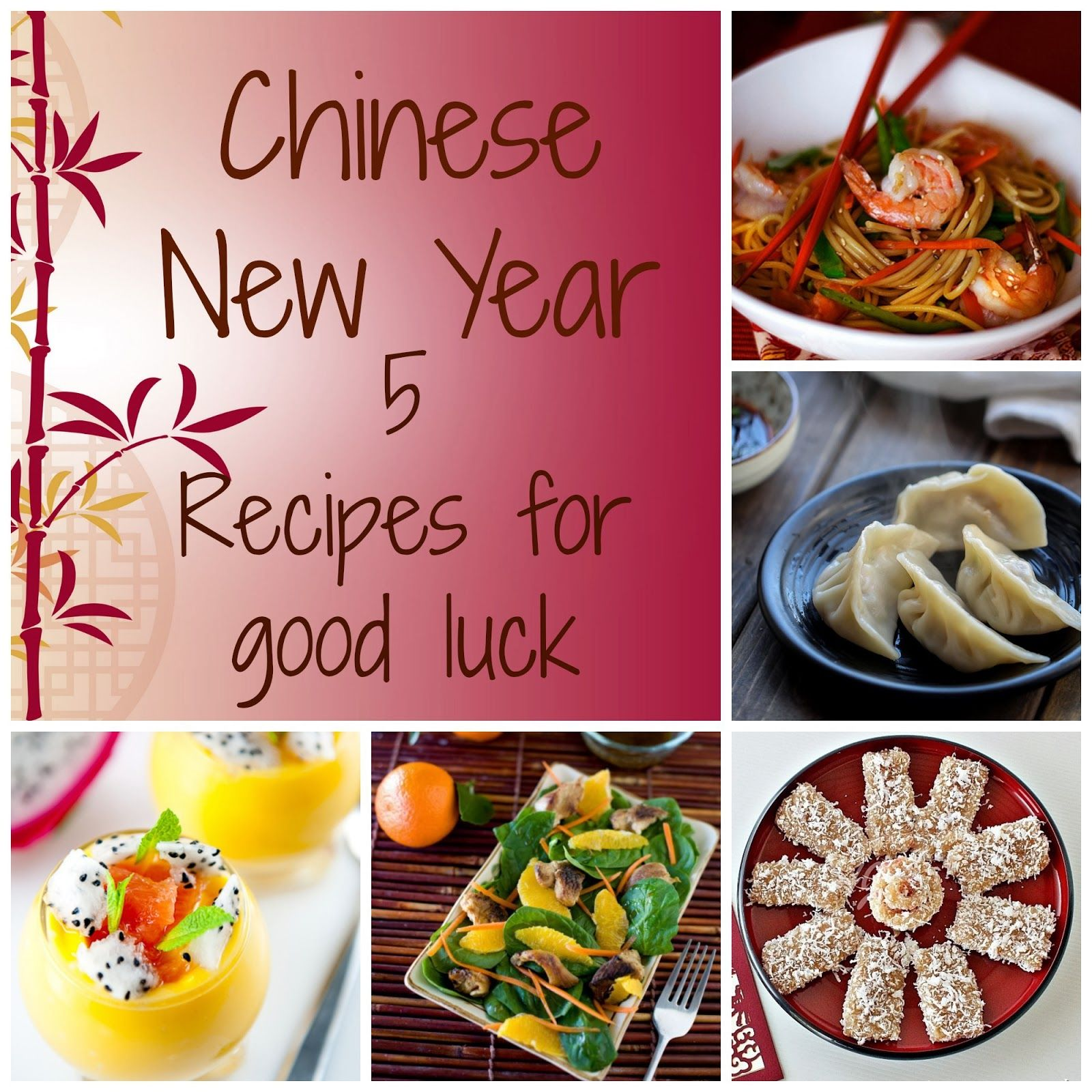 Chinese New Year good luck foods Lucky food, Food