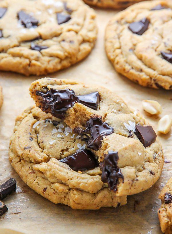 Soft Batch Chocolate Chunk Peanut Butter Cookies