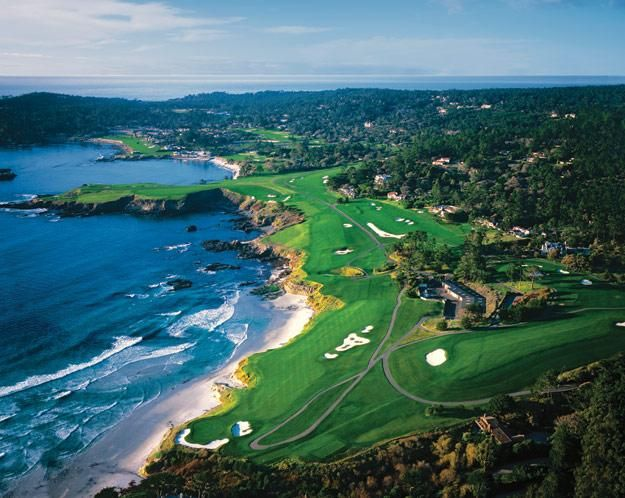 Pebble Beach Golf Resort Spa Carmel Ca